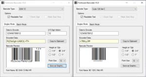 Fontware Barcoder